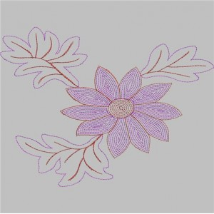 Sequin Embroidery designs 8