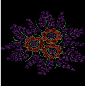 Sequin Embroidery designs 11