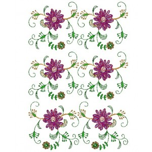 Nice Flower Embroidery Designs