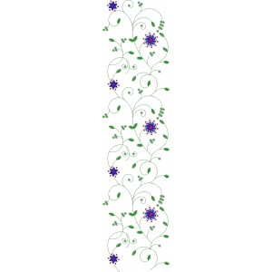 Allover Jaal Embroidery Design 1