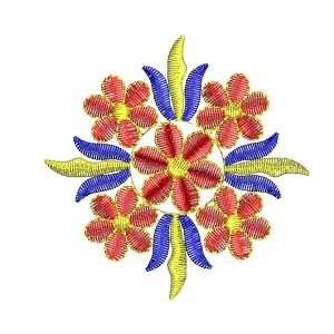 Nice Flower Embroidery Design