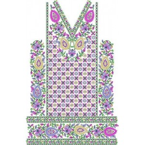 Full Traditional Indian Embroidery design