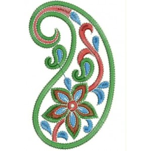 Nice Indian Mango Applique Design 1