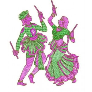 Garba boy embroidery design
