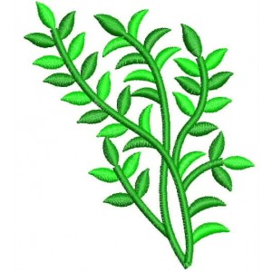 New Embroidery Design leaf