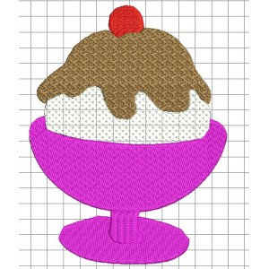 Icecream Embroidery Designs