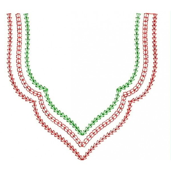 Simple Neckline Designs 1