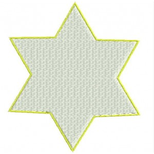 The Star of David Embroidery Designs