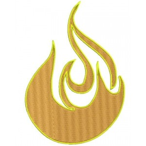Fire Flame embroidery Freebie Designs