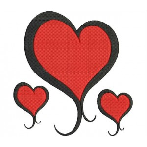 Valentine Hear Embroidery Designs 11