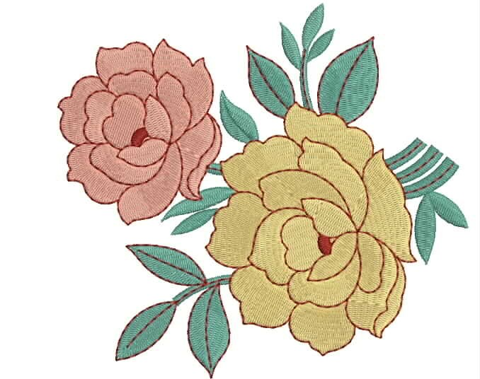 Rose Designs Embroidery 121