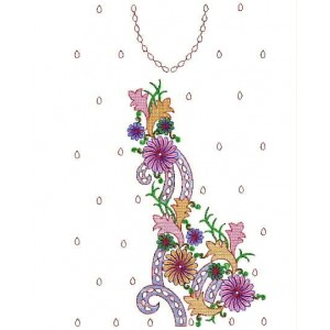 Full Dress Sequin Embroidery Designs 1