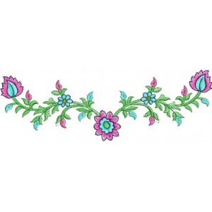 Small Neckline Embroidery Designs 41