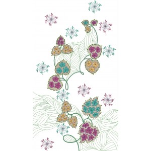 Machine embroidery sequin designs 1089