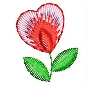 love flower embroidery designs 5