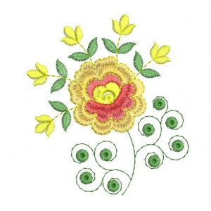 New embroidery Flower design 2