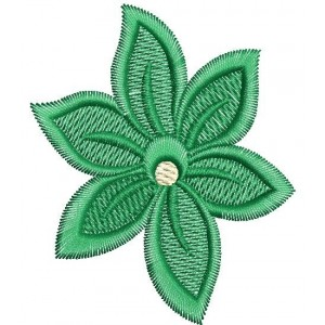 green Star embroidery designs 3053