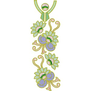 Beautiful abstract full Machine Embroidery Designs2067