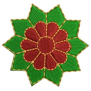 2x2 embroidery designs flower 3000