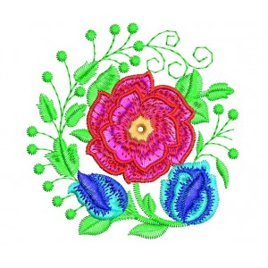 Rose Embroidery Designs freebie