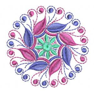Fancy 4x4 Embroidery Design