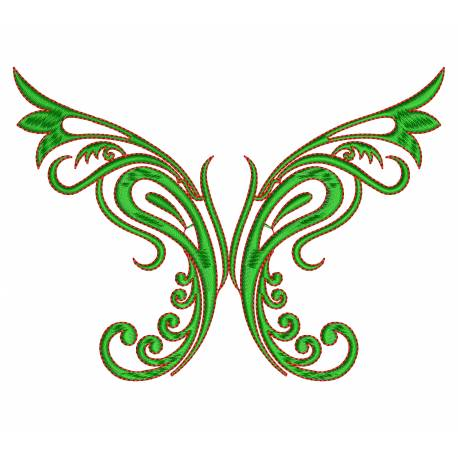 Beautiful Floral Butterfly Design