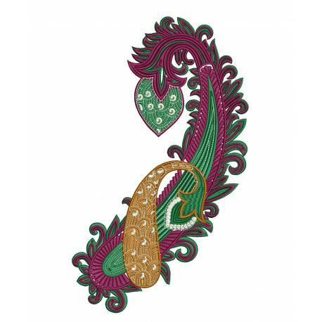 Patch Embroidery Design