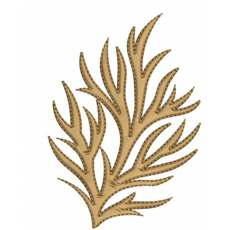 Abstract Embroidery Design