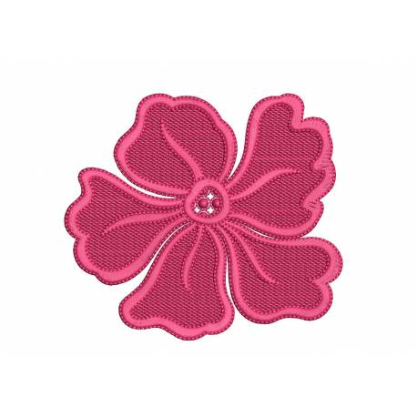 Wild Flower Embroidery Design