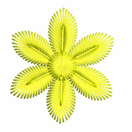 Small 2x2 Flower Embroidery Design