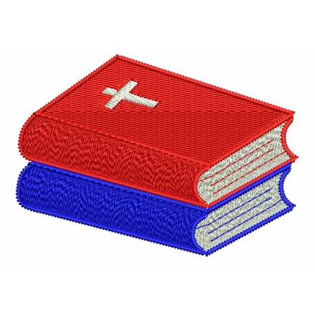 Bible Books Embroidery Design