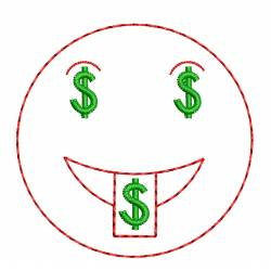Dollar Money Mouth Face Emoji Design