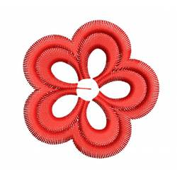 2x2 Mini Funky Flower Embroidery Design
