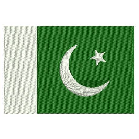 Pakistan Flag Embroidery Design