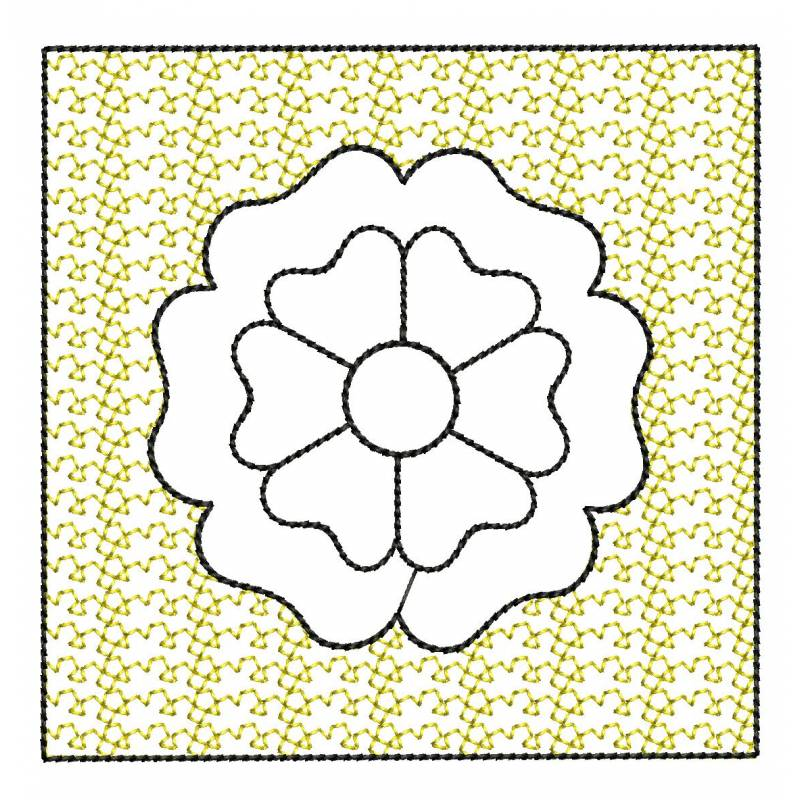 Stippling Embroidery Design