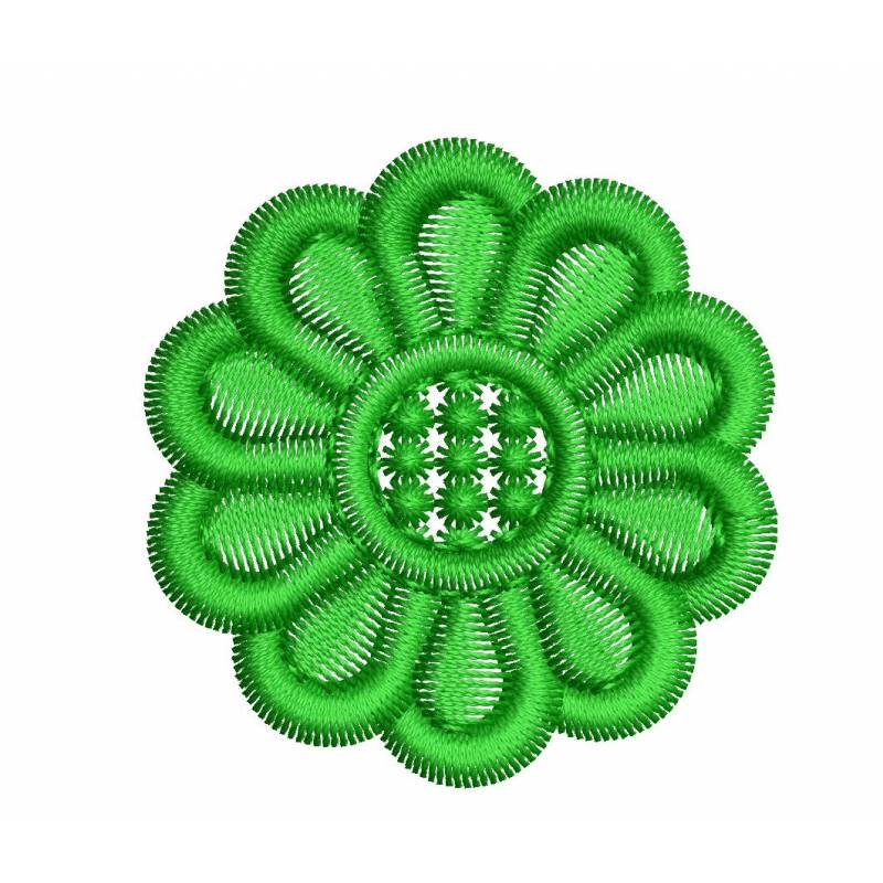 Very Small Embroidery Flower Design
