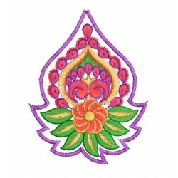 New Paisley Embroidery Design