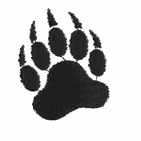 Bear Paw Embroidery Designs