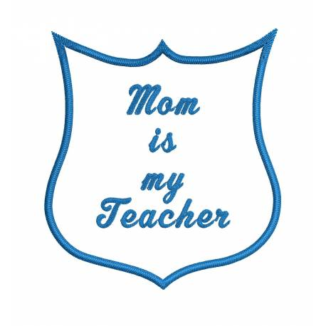 Mom 's quota Embroidery Design