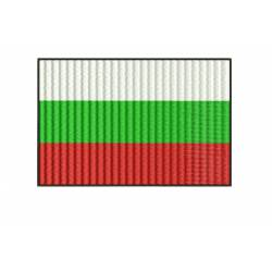 Bulgaria National Flag Embroidery design