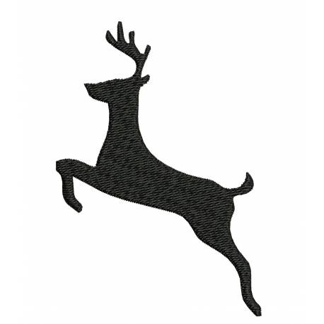 Deer Silhouette Design