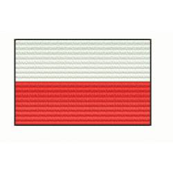 Poland National Flag Embroidery Design
