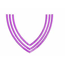 Simple Line Neckline 5x7