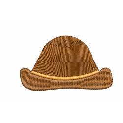 Cowboy Hat Machine Embroidery Design