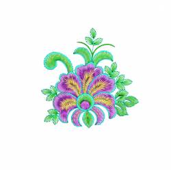 New Flora Machine Embroidery Design4