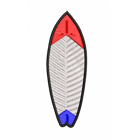 Surfboards Machine Embroidery Design