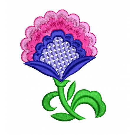 New Flower Machine Embroidery For Clutches