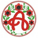 Alphabets embroidery designs